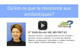 *Video:what is antibiotic resistance video presentation